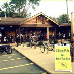 America's Best Beer Gardens: Village Pub & Beer Garden, Nashville  The sign--Pub, Beer Garden