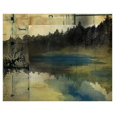 Gallery wrapped canvas giclee print with a landscape motif.   Product: Wall artConstruction Material: Canvas and...