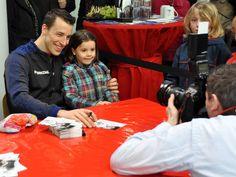 cute fan photo with Dominik Klein  meeting with fans event in Kiel