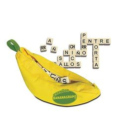 This Spanish Bananagrams Game is perfect! #zulilyfinds