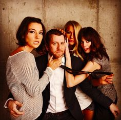 ZOMBEAVERS filmmaker @Jordan Bromley Bromley Bromley Rubin got surrounded by #LexiAtkins #RachelMelvin & #CourtneyPalm at #tff2014. #zombeavers #latergram
