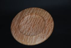 Large curly big leaf maple platter; beautiful shiny wood pattern and perfect for serving fruit or snacks https://www.indiegogo.com/projects/help-build-a-new-workshop-for-jorge/x/10082856
