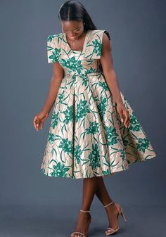 African Dresses For Kids, African Maxi Dresses, Latest African Fashion Dresses, African Print Fashion, African Attire, Best African Dress Designs, Traditional African Clothing, The Dress, Fairy Godmother