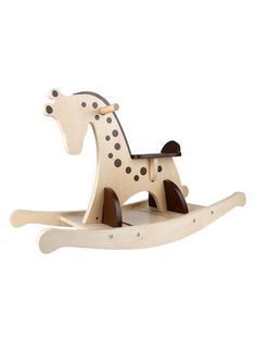 Hape Toys Giraffe Rocker Giraffe Rocker: Wooden ride-on rocking toy Promotes coordination, balance, and physical strength Material: Wood Care: Wipe with a damp cloth Brand: Hape Toys Origin: Imported Rocking Horse Plans, Rocking Horses, Kids Restaurants, Hape Toys, Kids Swing, Cardboard Toys, Woodworking Inspiration, Woodworking Toys, Kids Wood