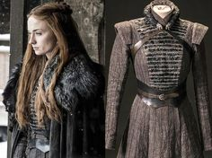There's a dark hidden meaning in Sansa Stark's newest 'Game of Thrones' costume Sansa Stark Costume Game Of Thrones Outfits, Game Of Thrones Dress, Game Of Thrones Cosplay, Game Of Thrones Clothing, Got Costumes, Costumes For Women, Movie Costumes, Medieval Dress, Medieval Clothing