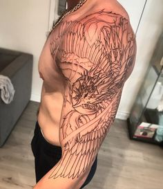 "647 Likes, 2 Comments - Danny (@danny_chronicink) on Instagram: ""Phoenix in progress • • • • •…"""