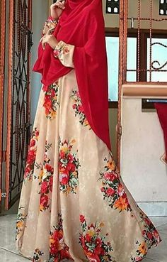 Moslem Fashion, Niqab Fashion, Modest Fashion, Fashion Dresses, Beautiful Hijab, Beautiful Dresses, Hijab Gown, Maxi Outfits, Muslim Dress