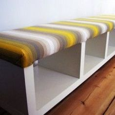 Clever DIY ideas on how to convert inexpensive pieces of IKEA furniture from drab to fab.