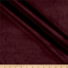 This luxurious medium/heavyweight (approximately 10oz) faux suede is super soft, brushed on both sides and features 15% stretch on the grain. Perfect for jackets, skirts, dresses, accents and even home decor uses like upholstery and throw pillows!