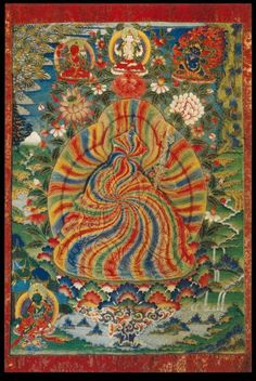 Guru Rinpoche Rainbow Body