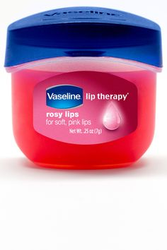 Vaseline Lip Therapy Rosy Lips On the look out for this now. Beauty Make-up, Beauty Secrets, Beauty Care, Beauty Hacks, Vaseline Lip, Vaseline Jelly, Without Makeup, Tips Belleza, Health And Beauty Tips