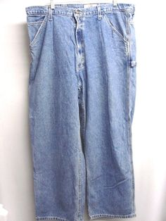 $15.99 Code Bleu Blue Denim Jeans Jean Carpenter Pants 100% Cotton Size 42 30 Men's  #CodeBleu #Carpenter #Everyday . .......... We are TOP RATED * POWER Sellers on EBAY * Selling WORLDWIDE. Visit us at our EBAY STORE * 4COOLSTUFF2BUY with any questions or items for sale, PRICING, DISCOUNTS & SALES.- C244