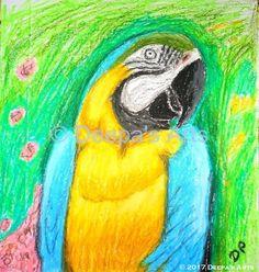 Oil pasteling a Macaw https://youtu.be/yKHMBvN2n8U