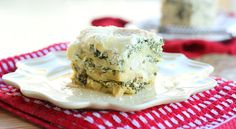 Slow Cooker Chicken and Spinach White Lasagna