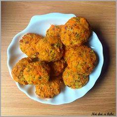 Chiftelute cu somon Baby Food Recipes, Healthy Recipes, Healthy Food, Kid Friendly Meals, Tandoori Chicken, Cauliflower, Delish, Food And Drink, Diet