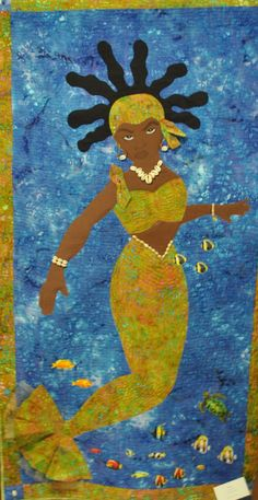 """Oshun"" by Lenora Brown"