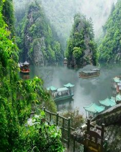 Superbe Lac Baofeng à Zhangjiajie Statuette / Viaje A la Statuette puede ayudar a personalizar. Lac Baofeng à Zhangjiajie Statuette / Vi. Zhangjiajie, Best Places To Travel, Cool Places To Visit, Visit China, Exotic Places, China Travel, Places Around The World, Beautiful Landscapes, Wonders Of The World