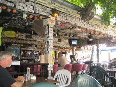 Willie T's - Key West - my dollar bill is hanging in there somewhere!