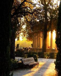 Retiro Park (Parque del Retiro) in Madrid. Just one of the many beautiful areas the city has to offer! Places To Travel, Places To See, Madrid Travel, Foto Madrid, Spain And Portugal, Adventure Is Out There, Spain Travel, Beautiful Places, Viajes