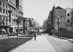 Avenida São João em 1936
