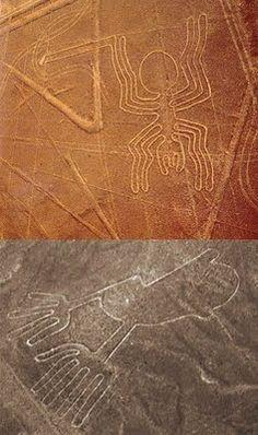 Nazca lines .