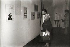 40 years ago opening of my first exhibition from Jan 29th to Feb 6th 1977. In Fontainebleau my birth town France. I was 18 . I'm still alive and painting ! 8 paintings oil on canvas and 30 works on paper from 1975 and 76.  More info at http://ift.tt/2kC2DYt(vintage pic with my great art teacher Yvonne Bouisset-Mignon at the opening) pascal lecocq #art #blue #painterofblue #painting #painter #artist #contemporaryartcurator #artstack #artcartridge #artcollectae #glarify #in #fontainebleau…
