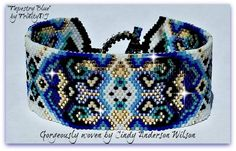 Tapestry Blue   Bead-Patterns