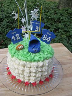 New England Patriot's Cake!