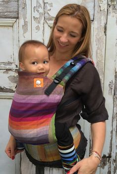 TULA Baby Carriers | Toddler Carriers — (Toddler Size) Half Wrap Conversion Tula - Girasol Amitola Purpura Rom