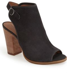 Lucky Brand 'Lisza' Open Toe Bootie (Women)