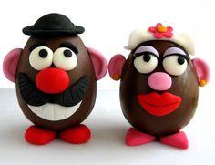 Mr. & Mrs. Potatohead <3