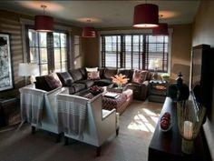 HGTV Dream Home 2012 family room