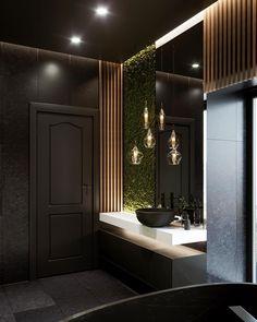 64 New Ideas Home Bathroom Spa Mirror Natural Bathroom, Modern Master Bathroom, Bathroom Spa, Bathroom Layout, Small Bathroom, Master Baths, Mirror Bathroom, Minimalist Bathroom, Bathroom Ideas