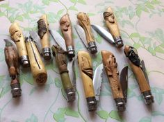 Нажмите на изображение, чтобы закрыть этот зум Opinel Knife, Victorinox Swiss Army Knife, Knife Making Tools, Knife Art, Wood Carving, Creations, Collection, How To Make, Accessories