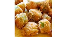 A simple Southern classic! Okra is dredged in seasoned cornmeal, then fried until golden.