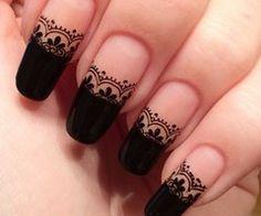 80 Best Nail Art Lace Images On Pinterest Gorgeous Nails Lace
