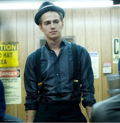 Hayden Christensen. Takers. he looked so good in this movie.