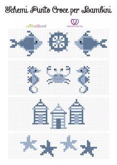 8729 best cross stitch images in 2019 Cross Stitch Sea, Baby Cross Stitch Patterns, Cross Stitch Needles, Cross Stitch Flowers, Cross Stitch Charts, Cross Stitch Designs, Needlepoint Designs, Knitting Charts, Loom Patterns