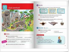 Unidad 10 de Lengua de 4º de Primaria Map, Interactive Activities, Spanish Language, Unity, United States, Maps, Peta
