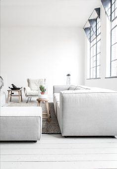 bright + white livingroom