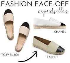 Image result for chanel espadrilles celebrity