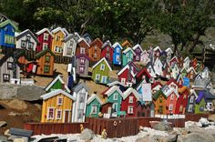 Some of the houses in Kasfjord City - Minibyen (https://www.facebook.com/pages/Kasfjord-City-Minibyen/1491714207726887?fref=ts )
