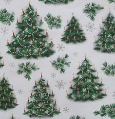 Vintage+NORCROSS+Christmas+Gift+Wrap++by+MidCenturyAddiction