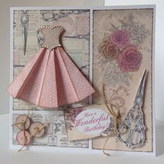 Card designed by Julie Hickey using Paper Couture Kit.