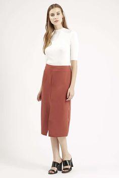 Photo 2 of Split Front Midi Skirt