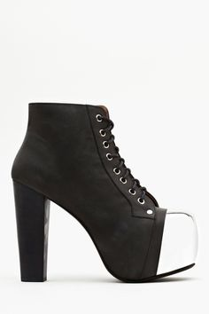 Lita Platform Boot - Steel Cap .  The picture doesn't do it justice.  It is the platonic form of the badass shoe.