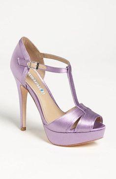 Lovely Lavender!  David Tutera Joy Sandal | Nordstrom #LavenderWeddings  wish these still existed ;_;