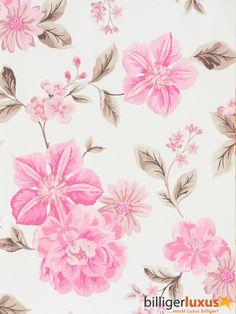 Wallpaper A.S. Création Dekora Natur 8562-34 856234 flowers white rose Wallpapers A.S. Création Dekora Natur 5