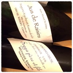 小布施ワイナリーの長野巨峰@ぶどうジュース2012(Jus de Raisins)と、ジャドウデザート2011(Méthode Erronée)を購入。