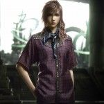 Final Fantasy XIII x Prada in Arena Homme+ Magazine